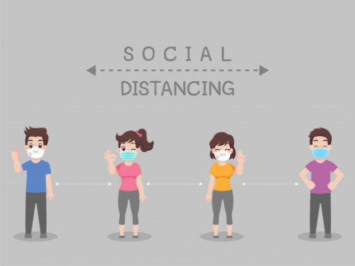 Pengertian social distancing menurut kampung inggris HEC1
