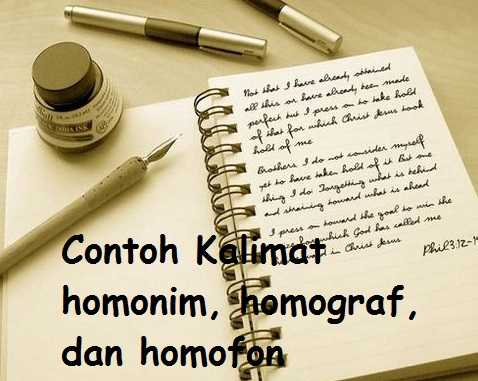 homonim, homograf dan homofon HEC1